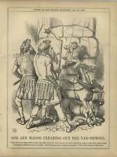 1863 Gog Magog City Mayor Traffic Control Out Van Demons