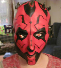 Star Wars Darth Maul rubber mask GREAT CONDITION