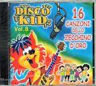 DISCO KID VOL.8 - 16 CANZONI DELLO ZECCHINO D'ORO - CD NUOVO SIGILLATO RARO