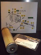 Kraftstofffilter Tankfilter Dichtung passend für Hatz E71 E75 E79 E780