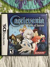Nintendo ds/dsi/dslite/2ds/3ds: CASTLEVANIA Dawn Of Sorrow - Complete!!