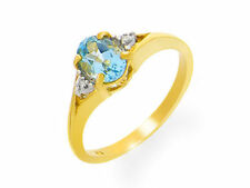 Topaz Yellow Not Enhanced Fine Rings