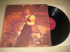 Alexis Korner and Friends  - Same  Vinyl LP Amiga weinrotes Label