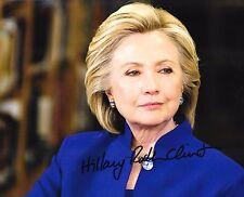 Автограф Хиллари Клинтон