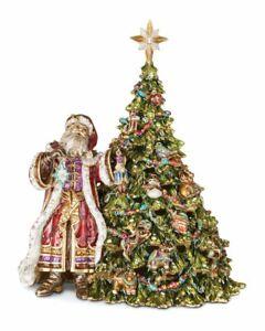 Jay Strongwater St. Nicholas Santa With Tree Music
