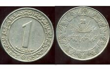 ALGERIE ALGERIA 1 dinar 1983   ( ca )