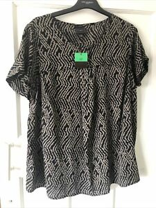 NEW Ladies Ann Harvey Blouse Top Size 22 BNWT