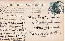 Genealogy Postcard - Family History - Davidson - West Jesmond - Newcastle  Y876