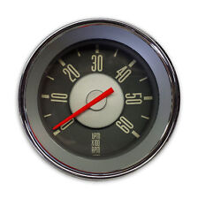 New VW Type 3 Accessory Grey Face with Red Needle Tachometer ISP West
