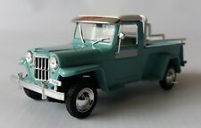 JEEP IKA WILLYS BAQUEANO 1/43 PICK-Up - IXO - DIECAST, METAL, RARE, NEW IN BOX.!