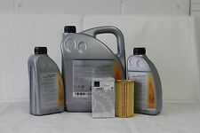 Genuine Mercedes-Benz E-Class E200 E220 E270 CDI Oil Filter & Engine Oil OM611