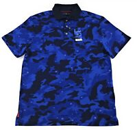 Polo Golf Ralph Lauren Limited Edition Justin Thomas JT Shirt Mens Blue Camo