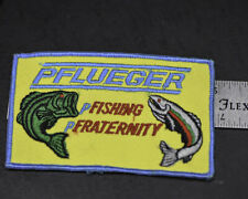 Phlueger Fishing Fraternity patch Never used