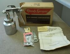 Speedy Paint Sprayer #131A in original box Vintage Air paint gun W R Brown