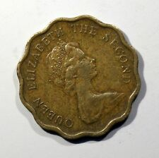 PMonnaies, Hong Kong, Elizabeth II, 20 Cents, 1975, Nickel-brass AC554