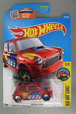 Hot Wheels 1:64 Scale 2016 HW Art Cars Series MORRIS MINI (RED)