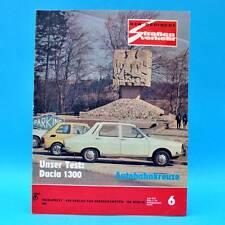 Der Deutsche Straßenverkehr 6/1976 Dacia 1300 Skoda 1000 MB S 100 Schönefeld C