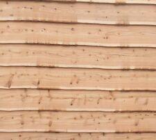 Larch Cladding Live Or waney edge straight cut wood Cedar oak fir chestnut