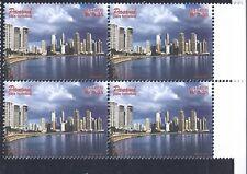 PANAMA BLOCK OF 4 STAMPS - TOURISM 1998 .35c STAMP #861 MNH OG