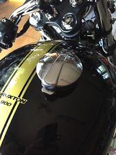 """Triumph Bonneville SE TEC Alloy Tank Adaptor + 2.5"""" Monza Style Cap"""