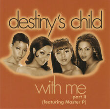 "DESTINY'S CHILD ""WithMePart II (Feat.MasterP)"" Rare 1998 11Trk PROMO CD *Beyonce"