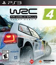 WRC 4: FIA World Rally Championship New and Sealed For Sony PS3