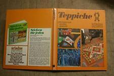 Fachbuch Teppiche selbst gewebt, geknüpft, gestrickt, Handarbeit, 1976