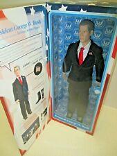 "NEW 13"" electronic talking President George W Bush (MISB) Toypresidents (2003)"