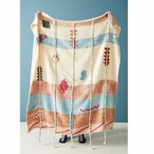 ANTHROPOLOGIE Woven Palo Alto Throw Blanket