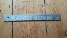 RANGE ROVER P38 94-99 REAR DOOR FLOOR SILL KICK SCUFF STAINLESS STEEL PANEL TRIM