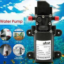 12 Volt High Pressure Wash Water Pump Self Priming Car Boat Campervan Sprayer
