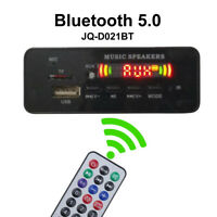Wireless Bluetooth MP3 WMA Decoder Board Audio Module USB TF Radio For Car Surpr