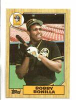 1987 TOPPS BOBBY BONILLA ROOKIE