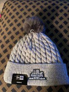 New Era Pinstripe Bowl Yankee Stadium Beanie Winter Hat Cap