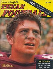 Dave Campbell's Texas Football 1972 Brad Dusek New Aggie Wishbone