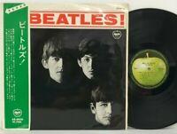 The Beatles - Meet The Beatles LP 1969 Japan Apple Records PAUL McCARTNEY w/ obi