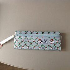 Vintage# Disney School Bag Pen Chip' N' Dale Chip & Chop #Rare Astuccio Scuola