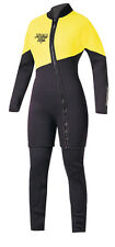 Action Plus Women's 3mm Farmer Jane Two Piece Wetsuit Sz Large MADE IN USA! NY