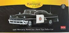 1956 Mercury MontClair Hard Top Police Car The Platinum Collection