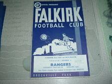 Falkirk v Rangers Jan 1969