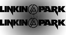 2 x Linkin Park + Logo Aufkleber Auto Deko Folie LINKIN PARK