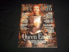 1996 FEBRUARY VANITY FAIR FASHION MAGAZINE - EMMA THOMPSON COVER - J 1063