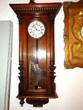 2 WEIGHT  WALL CLOCK REGULATOR   FOR A  RESTAURATION