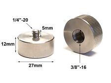 "US 1/4""-20 Male to 3/8""-16 Female Screw Thread Adapter Photo Camera Tripod"