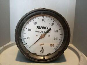 Trerice Pressure Gauge, 0-160 PSI, 52-2404