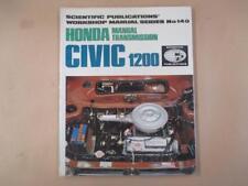 Honda Civic, workshop, service and repair manual, vintage