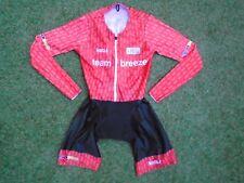 British Cycling Pro Womens Team Breeze Kalas Aero Race Speed Skin Suit ~ Small