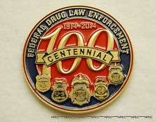 NEW US DEA 100yrs ANNIV of FEDERAL DRUG ENFORCEMENT Challenge Coin Agent Police