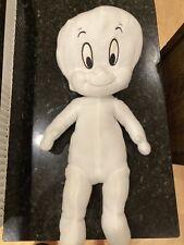 Vintage Harvey Toons Casper The Friendly Ghost Plush Stuffed Toy 12 inch