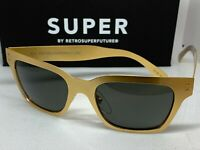 RetroSuperFuture T7A America Oro Frame Sunglasses NIB